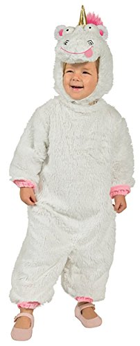 Despicable Me Unicorn Costume (Rubie's Costume Despicable Me 3 Toddler Fluffy Costume, X-Small)