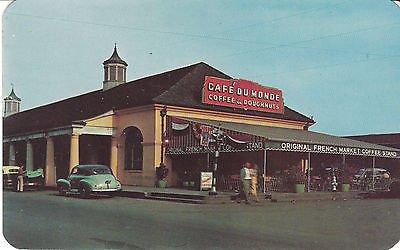 - G0165 LA, New Orleans Coffee Shop Postcard