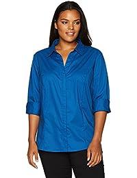 Blues Women S Blouses Button Down Shirts Amazon Com