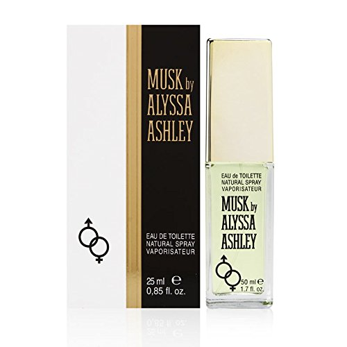 Alyssa Ashley Musk Eau de Toilette Spray, 0.85 Ounce