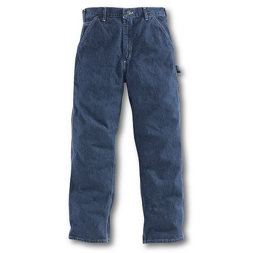Carhartt Men's Washed Denim Work Dungaree Jean B13