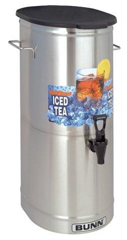 5 Gallon Iced Tea - Bunn Ice Tea Dispenser Tdo-5 - 5 Gallon - Solid Lid - 34100-0001