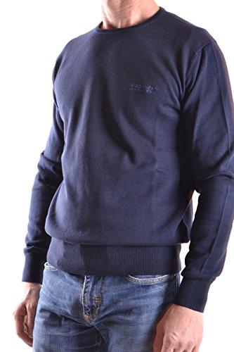 Woolrich Homme MCBI314037O Bleu Coton Maille