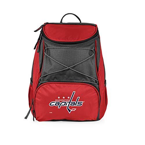 PICNIC TIME NHL Washington Capitals PTX Insulated Backpack Cooler fdc151e1cfa4a