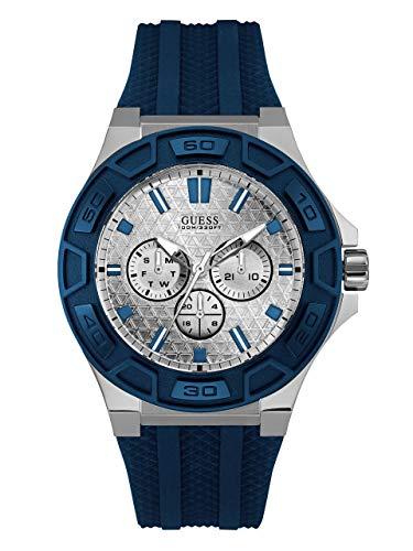 GUESS Factory Men's Blue Multifunction Sport Watch