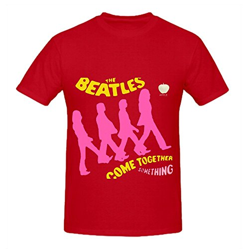 Beatles Come Together Beatles Soul Men O Neck Art Shirts Red (Booty Girl Pirates)