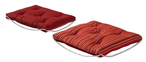 Bossima Sunbrella Indoor/Outdoor Porto Rosso Steamer Cushion ()
