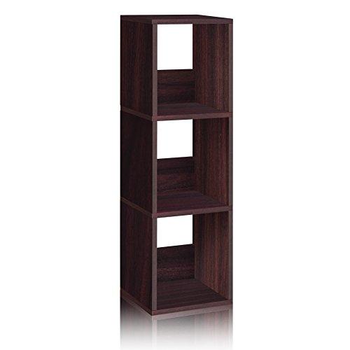 espresso bookcase narrow - 8