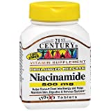 21st Century Niacinamide 500 mg Tablets Prolonged Release - 110 ct, Pack of 2