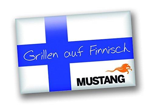 Mustang mobiler Grillrost mit Erdspie/ß 79cm Grillfl/äche 40x40cm Outdoor Grill