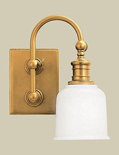 Aged Brass Keswick 1 Light Bathroom Wall Sconce