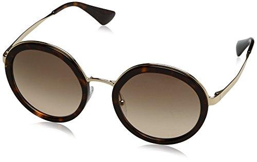 Marrón tortoise 50ts Sonnenbrille Prada brown pr SfwRnqz