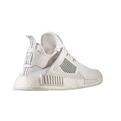 Adidas NMD_XR1 PK, BY9922, BY9921. in Bianco e Nero Sneaker con Tecnologia Boost. Scarpe da Ginnastica per Uomo. White/White