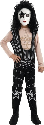 Kiss Starchild Costumes (Boys Deluxe Kiss Starchild Costume L)