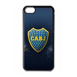 Boca Juniors X5M58U4DC funda iPod Touch 6 caso funda PK8W1S negro