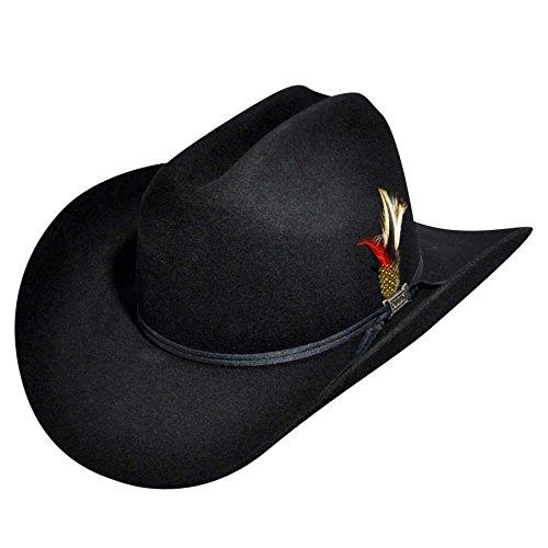 Eddy Bros. Men Scottsdale Western Hat Black 7 5/8