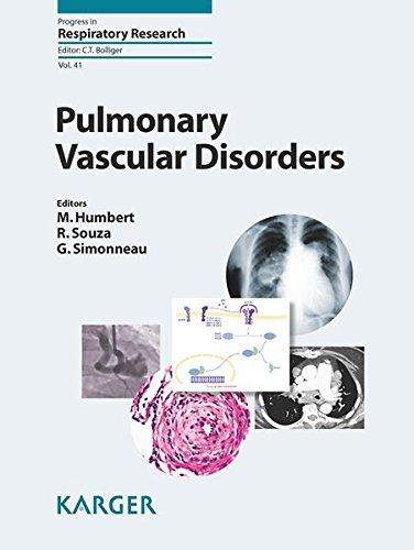 Pulmonary Vascular Disorders (Progress in Respiratory Research, Vol. 41)