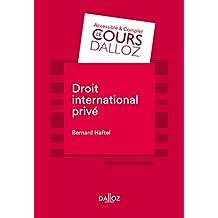 Droit international privé (Cours) (French Edition)