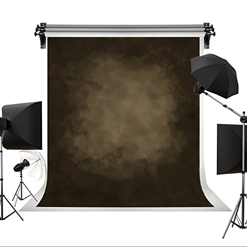 Kate 8x8ft Oil Painting Printed Old Master Dark Brown Background Portrait Photography Abstract Texture Backdrop