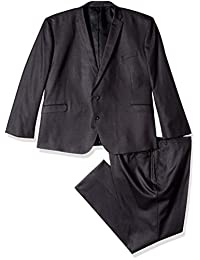 Kenneth Cole REACTION Mens Big & Tall Performance Stretch Suit Business Suit Pants Set