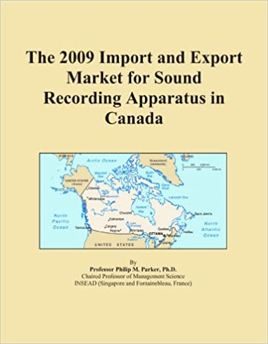 Ilmaiset ladattavat kirjat ipod The 2009 Import and Export Market for Sound Recording Apparatus in Canada CHM B002KT2D54