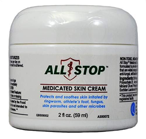(Medicated Skin Cream [2 oz] Antifungal Cream for Jock Itch, Ringworm, Athlete's Foot, Wounds, Skin)