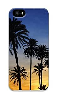 Day Break Palms17 PC Case Cover for iPhone 5 and iPhone 5s 3D