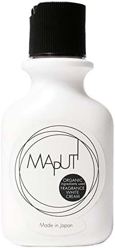 MAPUTI Organic Fragrance Whitening Body Cream Made in Japan 3.38 Fl Oz