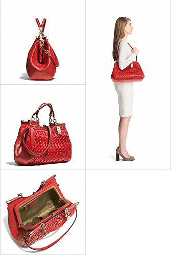 Coach-Madison-Leather-Gathered-Twist-Carrie-Satchel-Bag-27681-Love-Red