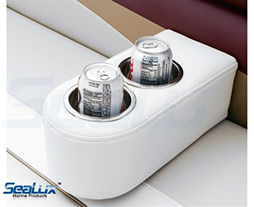 2pcs-SeaLux-Stainless-Steel-Recessed-Cup-Drink-Holder-for-Marine-Boat-RV-Camper