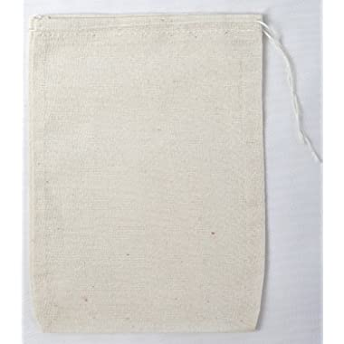 Cotton Muslin Bags 5x7 Inches 25 Count Pack
