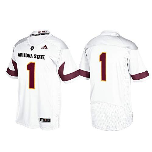 (adidas NCAA Arizona State Sun Devils Adult Men Premier Football Jersey, Large, White)