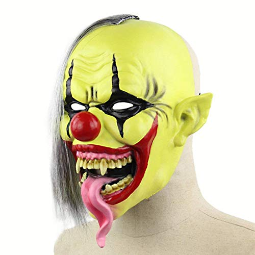 Scary Halloween Mask Terror Ghost Devil Mask Dance Party Scary Biochemical Alien Zombie Caps Mask