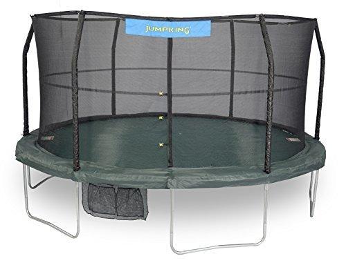 JumpKing 6 Legs Trampoline & Enclosure, 14′