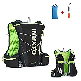 IBTXO Running Race Hydration Vest 10L Outdoors Hydration Pack Backpack for Marathon Running Cycling Hiking Fits Men and Women