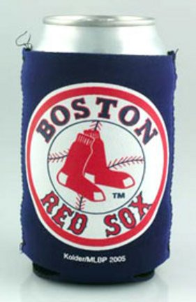 Kolder Boston Red Sox Cooler (Boston Red Sox Kolder Kaddy Can Holders - Set of 4)