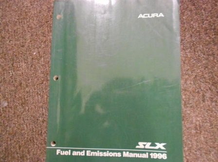 1996 Acura SLX Service Repair Shop Manual Electrical