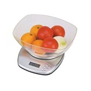 Culinedge Precision Excel Multifunction Digital Kitchen Scale 11 Lbs/5kg Capa...