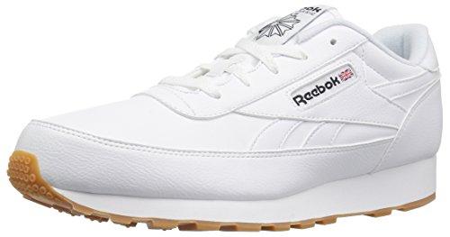 - Reebok Men's Classic Renaissance Wide 4E Walking Shoe, White/Black/Gum, 14 US