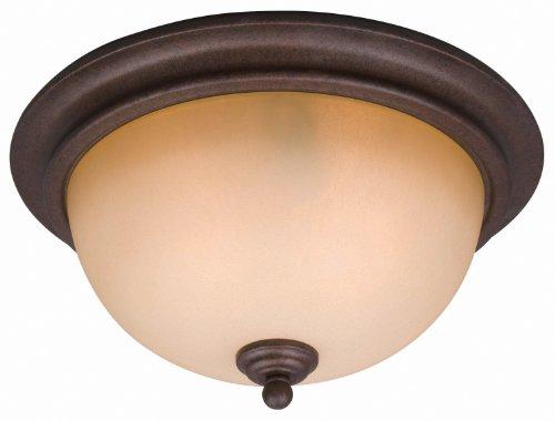 (Hardware House 10-1134 Bennington Flush Mount Ceiling Light)