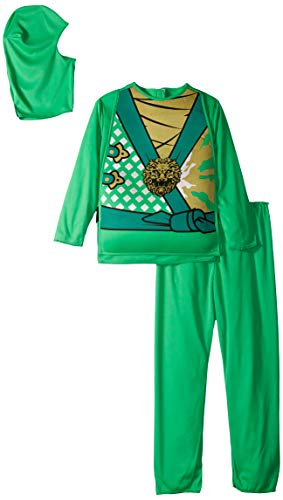 (Charades Child's Ninja Avenger Series 4 Costume, Jade Green,)