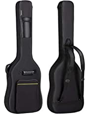 $21 » CAHAYA Electric Bass Guitar Bag Gig Bag 0.3inch Padding Black Padded Backpack Soft Bass Guitar Case