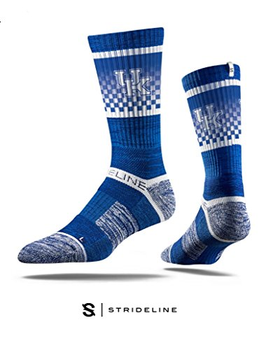 University of Kentucky Blue Premium Crew Socks by Zokee-University of Kentucky