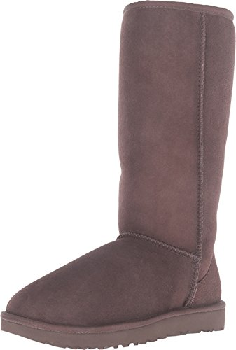 (UGG Women's Classic Tall II Winter Boot, Chocolate, 5 B)
