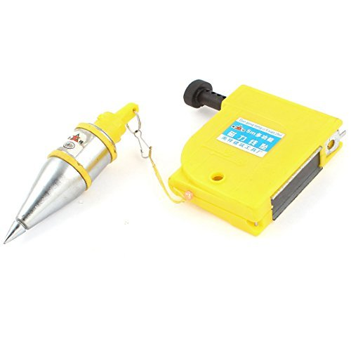 DealMux Magnetic 400g Plumb Bob Straight Level Setter Test Device 5 Meters ()