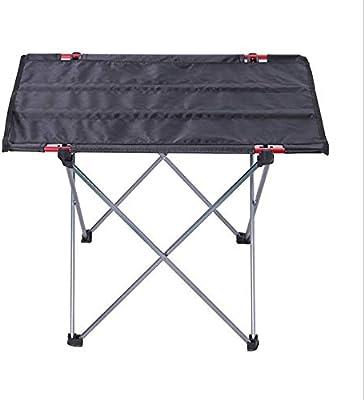 Mesa Plegable Camping, Compacta Portátil Ultraligero Mesa para Viajes Playa Acampar Actividad al Aire Libre