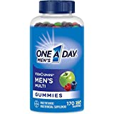 One A Day Men's VitaCraves Multivitamin Gummies, Supplement with Vitamins A, C, E