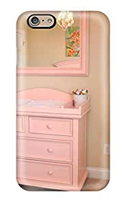 Beautiful-Diy - New Girls Nursery Soft Pink Changing Table And Mirror protective Iphone 6 Classic Hardshell case cover z3FOXcwI9Bb