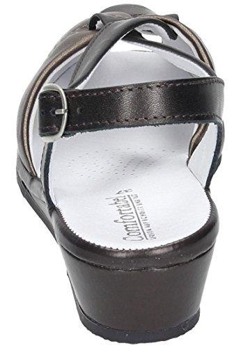 Sandalo Donna Comfortabel Marrone 710653-2 Marrone / Bronzo
