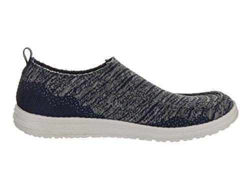 Skechers Melson - Rostic Herren Textile Slipper Navy